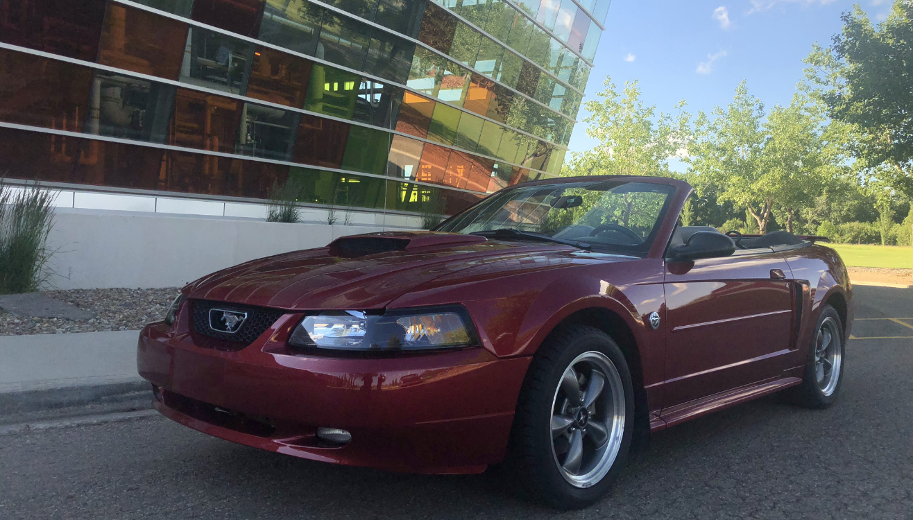 2004 Ford Mustang Convertible - 40th Anniversary