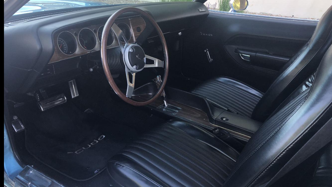 1974 Plymouth Barracuda (blue)