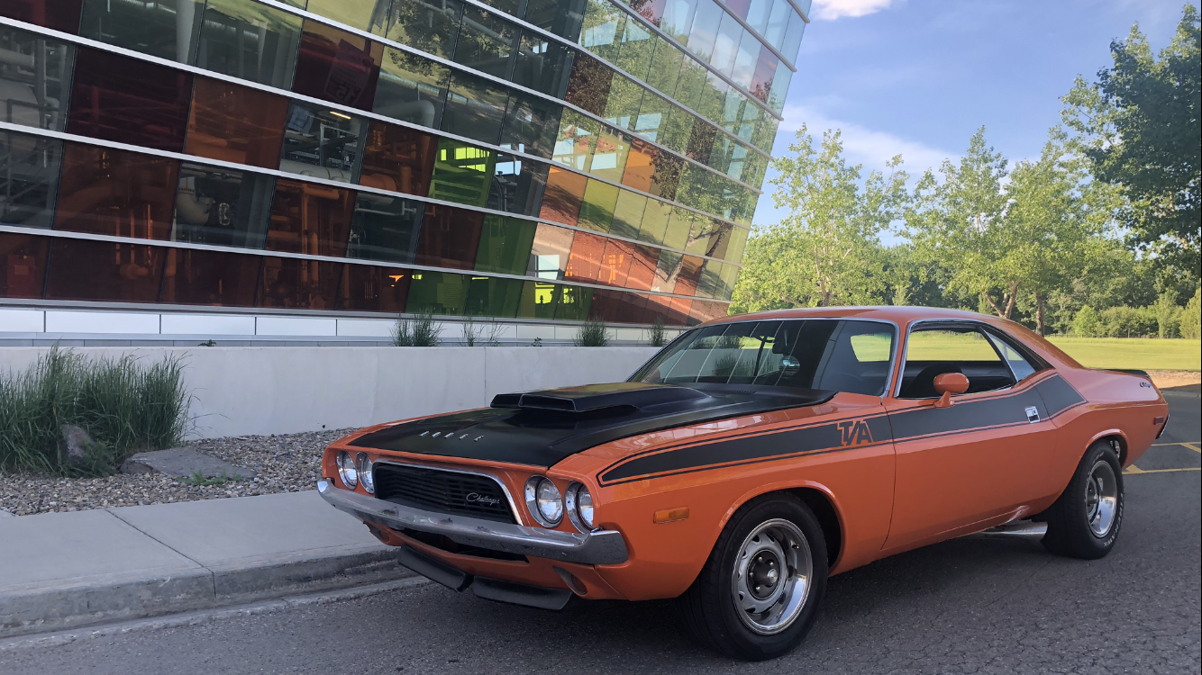 1972 Dodge Challenger Ralley (orange)