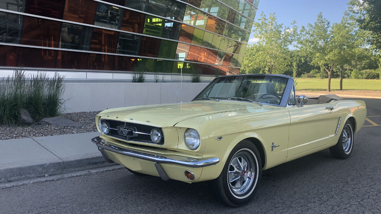 1964.5 Ford Mustang Convertible (yellow)