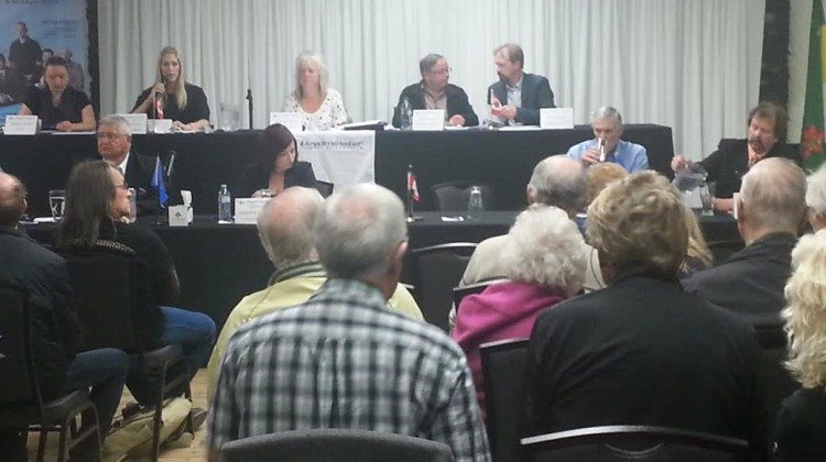 A file photo of the federal forum held in 2015.