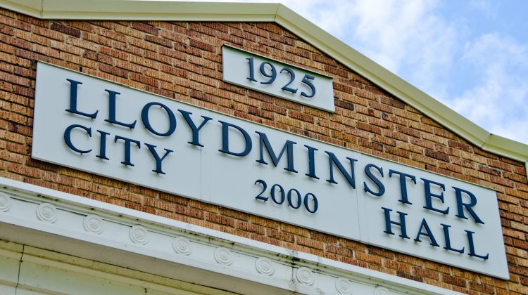 The exterior of Lloydminster City Hall. Photo by James Wood/106.1 The Goat/ Vista Radio