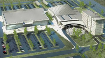 A concept image of how the complex will look, taken from documents presented to Vermilion River County council.
