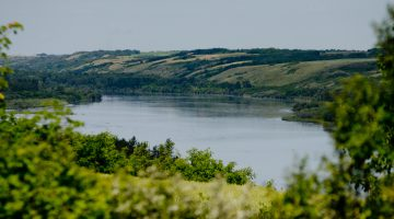 The North Saskatchewan River is seen in a file photo. Photo by James Wood/106.1 The Goat/Vista Radio