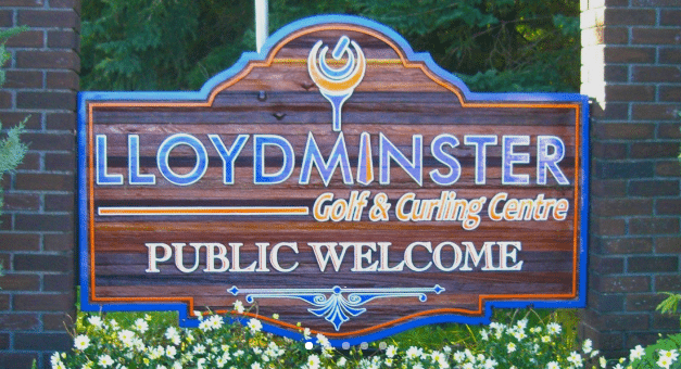 lloydminster golf and curling centre.'