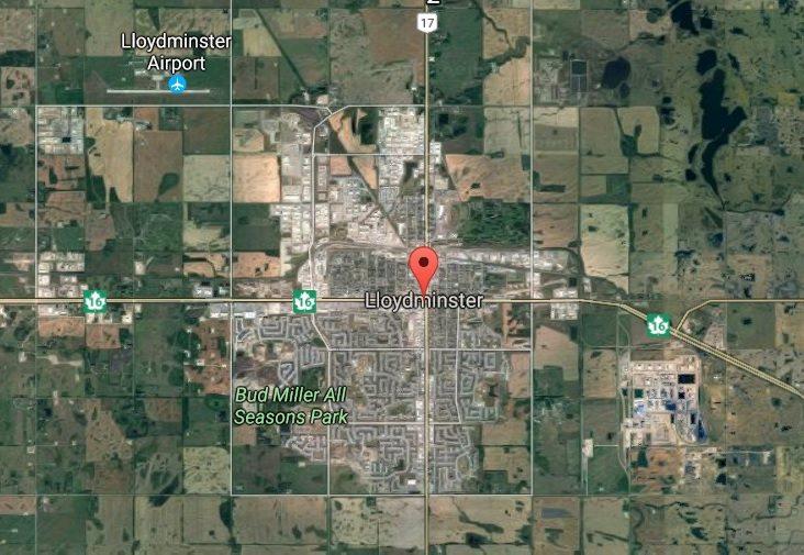 Lloydminster Alberta Map