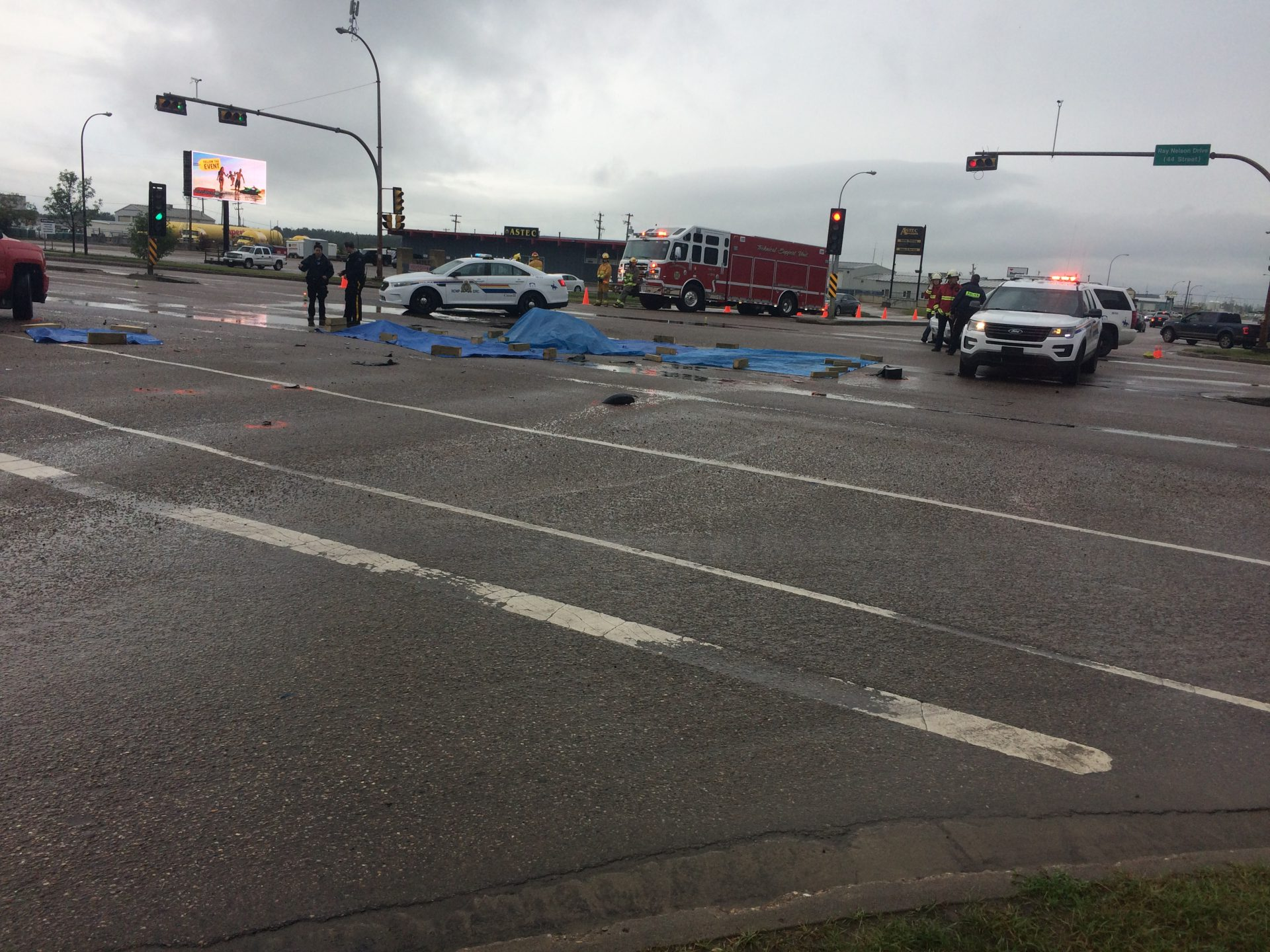 UPDATE: RCMP confirm fatality at Highway 16 accident - My