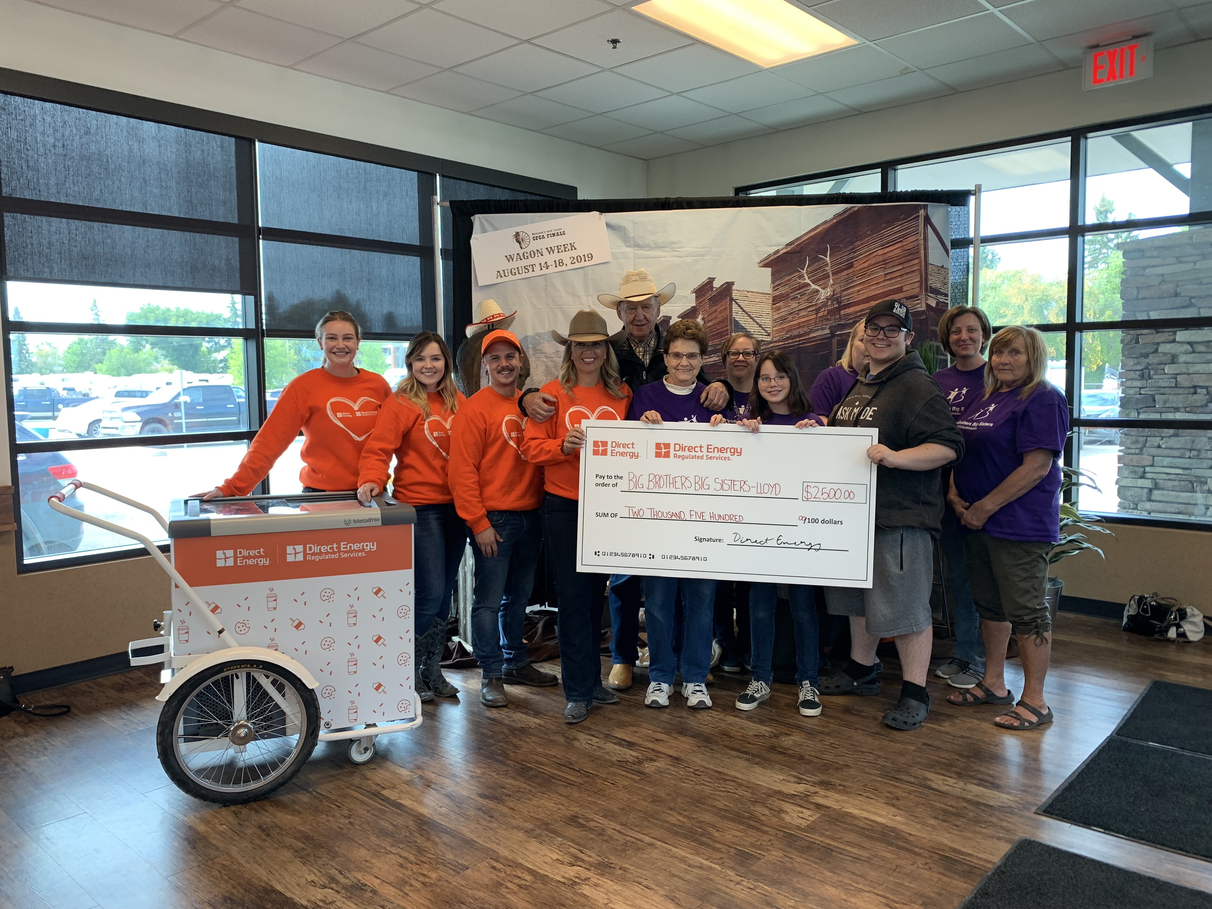 Big Brothers, Big Sisters receives a surprise donation - My