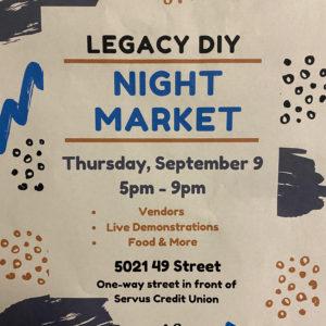 Legacy DIY Night Market